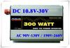 300W Micro Grid Tie Inverter for Solar Power, DC 10.5V-30V to AC 100V 110V 120V 220V 230V 240V free shipping