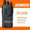 DHL Freeshipping +2 sets/lot Walkie Talkie Uhf 16 CH Two-Way Radio TK-U100 handheld interphone Ham CB radio Transceiver TKU100