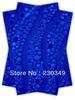2014 African SEGO headtie, Gele&Ipele,Head Tie & Wrapper, 2pcs/set ,ROYAL BLUE