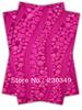 Free shippig African headtie,Head Gear, Sego Gele&Ipele,Head Tie & Wrapper, 2pcs/set ,FUSHIA