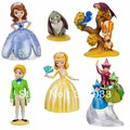 NEWEST NEW Sofia the First 6 Figure Playset