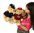 J1 RUSS British royal London police sweater teddy bear large plush toys wedding gift 30cm fee shipping