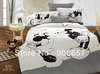 black white mickey mouse printed comforter girls bedding cotton bed clothes children's queen full quilt duvet covers sheet set