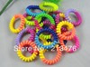 20PC dual color Mix Printing telephone line elastic hair band hair accessory