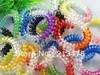 20pcs Mix Women Telephone Line Elastic Hair Rope Accessories Transparent