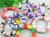 20PC Dot Mix telephone line elastic hair band hair accessory