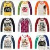 New 2014 t-shirts, cotton long sleeve children t shirts, cute cartoon t-shirt, candy color bottoming t shirt, nova kids