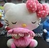 J1 Super cute pajama design hello kitty plush doll toys, 1pc, Christmas gift 30cm