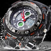 Top brand EPOZZ man sport watch analog and digital display rubber band waterproof famous luxury watches relogios masculinos 2014