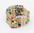 Wholesasle Bohemia 2014 New Gift Fashion Cheap Colorful Bead Bracelets & Bangles Wrap Bracelets For Women