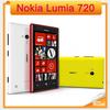 "Unlocked Original 720 Nokia Lumia 720 Windows Phone 8 Dual-core 1.0 GHz Camera 6.7MP ROM 8GB 4.3"" IPS Capacitive 3G Mobile Phone"