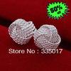 E013 lose money promotion! hot sale lowest price wholesale 925 sterling Silver earring Fashion women charm Jewelry earring
