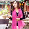 High quality! 2013 scarf women pure color silk scarf 160*50cm
