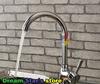 2014 Dual 360 degree swivel vessel kitchen Sink basin Faucet Lavabo mixer Cozinha torneira banheiro rubinetto