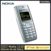 Cheap Original Unlocked Nokia 1110 mobile phone Dualband Classic GSM Cell phone 1 year warranty Refurbished Phone No Accessories