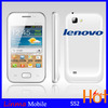 Dual SIM Android lenovo mobile Phone with Multi languages 1G Mhz Cpu smart android 4.1 items lenovo in our store