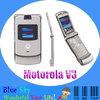 Original Refurbished Motorola V3 mobile phone Unlocked Quad band phone