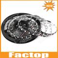 5M PCB Black Epoxy Waterproof RGB SMD 5050 Flexible 300 LED 60led/M Strips Lights