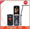 Cheap Original Phone Motorola V8 2.2 inch Screen Camera 2.0MP Unlocked Mobile phone Free Shipping