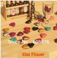 Vintage style 10 Colors Mini heart shape sealing wax for DIY stamp 100Pcs/lot