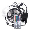 5M Flexible RGB 5050 LED Strip Light SMD 300 LED non-waterproof+44 Key IR remote Controller+5A power adapter Free shipping