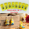 Keychain explosion models ~ Precious Milk Dad Despicable Me 2 small Huang Renli eight individually wrapped body Keychain