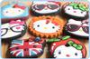 16PCS Kawaii Hello Kitty MIX Designs Rubber KEY Cover Coat KEY CAP Chain Holder Rubber Key Pendant Hook Key Cap Case Cover Wrap