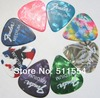 Wholesale of cheap and high quality 100pcs/lot Celluloid Guitar Picks Plectrums Standard/Triangle Free Shipping
