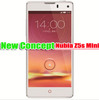 "Nubia Z5s mini Full White 5MP+13MP WCDMA+EVDO+GSM 4.7""IGZO snapdragon 600 2G+16G Android 4.2+Rooted+Google play Spainish"