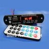 RED 12v Digital LED Bluetooth mp3 Decoder Board FM Radio Usb Sd AUX + Remote free shipping