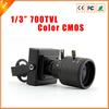 "High Performance 1/3"" 700TVL F1.4 CMOS CCTV Mini Camera 2.8-12mm Varifocal Lens Surveillance Camera CCTV Free Shipping"