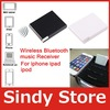 Free shipping Bluetooth A2DP Music Receiver Audio Adapter for ipad iPod iPhone 30Pin Dock Bose Speaker
