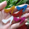 Free shipping! very hot and kawaii flat back resin shoes accessory 30pcs