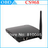 Build-in 2.0MP webcam Microphone CS968 Quad Core RK3188 Android 4.2.2 Bluetooth4.0 XBMC RJ45 TV Box 2GB RAM 8GB+Remote Control