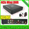 New RS485 4CH Mini DVR H.264 CCTV DVR Recorder P2P Cloud 4ch Full D1 CCTV DVR Recorder With HDMI interface Free Shipping