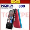 """Lumia 800 Unlocked Original Nokia Lumia 800 mobile phone windows 7.5 16gb storage 3G GPS WIFI 3.7"""" touchscreen 8MP freeship"""