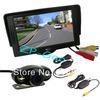 "4.3"" TFT LCD Monitor Car Rear View Kit + 2 IR LED Wireless Reversing Camera Waterproof 170 Degree Free Shipping"