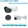 Free shipping High Resolution CCD camera HD 700TVL CCTV bracket camera 1/3 Sony CCD Bullet Camera IR 960H security camera system