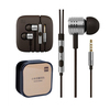 New Xiaomi Piston Headphone Earbud Headphones Stereo Headset 6 Ear Gels Mic Microphone Auriculares Audifonos Fone de Ouvido