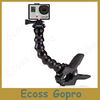 Go Pro Accessories Adjustable Neck gopro camera Jaws Flex Clamp Mount Flexible Tripod  for Gopro hero 3/2/1 Camera Accessories