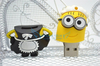 New 2014 lovely minions usb flash drive pen drive 64GB 32GB 16GB 8GB cute New Despicable Me 2 Flash Memory Stick drive Pen