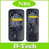 N86 Original Nokia N86 mobile phone 3G WIFI GPS Bluetooth 8MP Russian keyboard Support Free Shipping