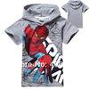 1pcs New 2014 boys girls casual nova top shorts t-shirts for kids baby spiderman summer cartoon children's t shirts clothing
