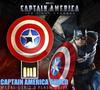 Full Capacity Avengers Captain America Shield Metal USB 2.0 Flash Drive Memory Stick Pen Drive 4GB/8GB/16GB/32GB/64GB/128GB