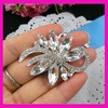 Fashion rhinestone brooch for invitation card 100pcs/lot