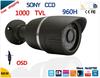 "Security camera 1/3""Sony ccd Effio-e 1000TVL 36led with OSD menu waterproof cctv camera HD Outdoor security camera bullet cam"