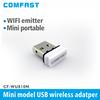 150Mbps Super Mini USB Desktop Laptop WiFi Receiver Transmitter wireless adapter CF-WU810 free drop shipping