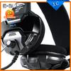 Original Brand E-Blue Cobra headphones Blue Light Gaming Headset Headphone with Microphone Razer Gamer MSN Skype