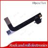 10PCS/LOT Original Headphone Jack Audio Mic Connector USB Charging Port Flex Cable For iPad 4