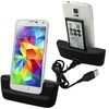 2014 New Arrive Desktop Dock Spare Battery Charger Sync For Samsung Galaxy S5 i9600  Freeshipping&Wholesale